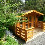 4m x 4m Log Cabin With 1.5m Veranda