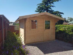 Small Log Cabins UK