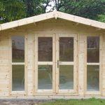 Apex Full Front Log Cabin