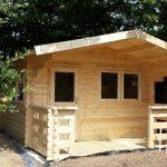 4m x 7m Log Cabin With Veranda
