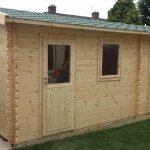 Apex Side Log Cabin