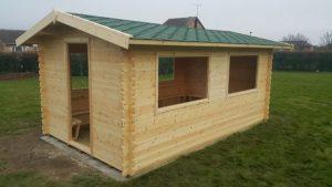 Outdoor Classroom -  Bespoke Garden Log Cabins